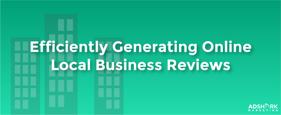 Efficiently Generating Online Local Business Reviews