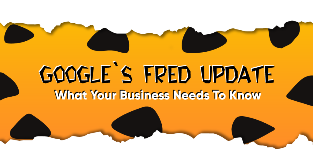 Google Fred Update Guide